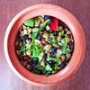 Spiced Lentil Salad with Currants and Peppers