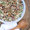 Brown Rice, Mint and Pine Nut Salad with Currants and Caramelized Onion