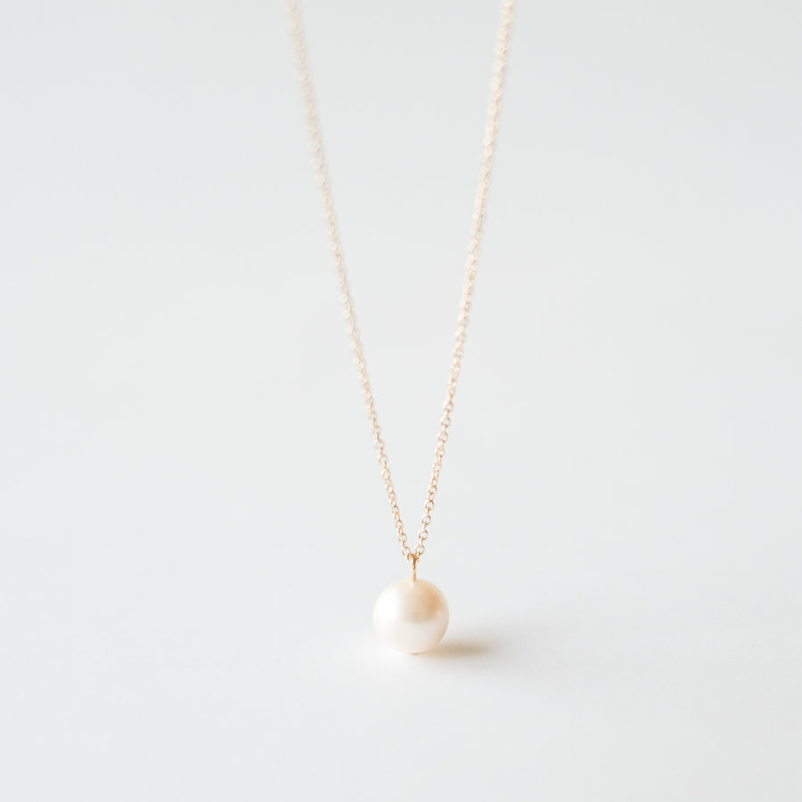 Freshwater Pearl Necklace in Gold