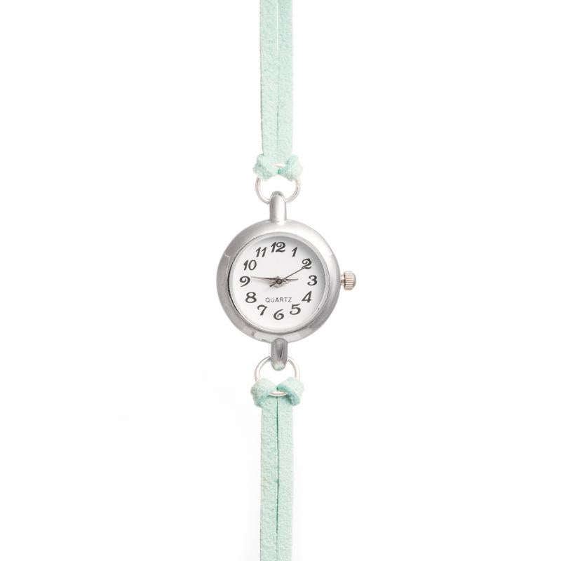 Mint Suede Watch