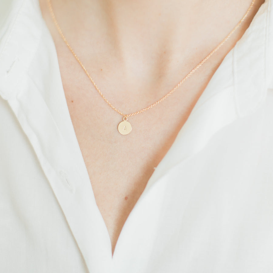 Personalised Initial Letter Necklace
