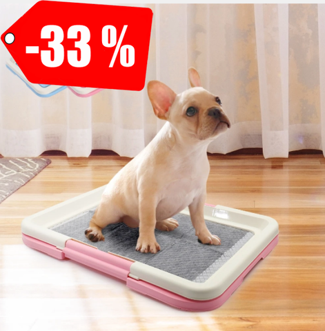 Portable Dog Potty Training Toilet