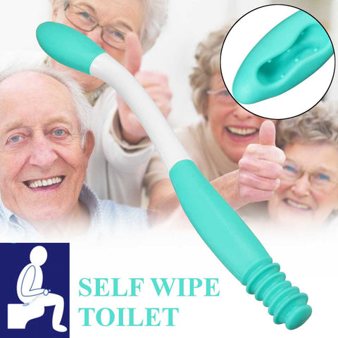 Toilet  Self Wipe Assist Holder