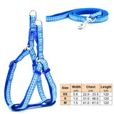 Dog Harness Leash Adjustable