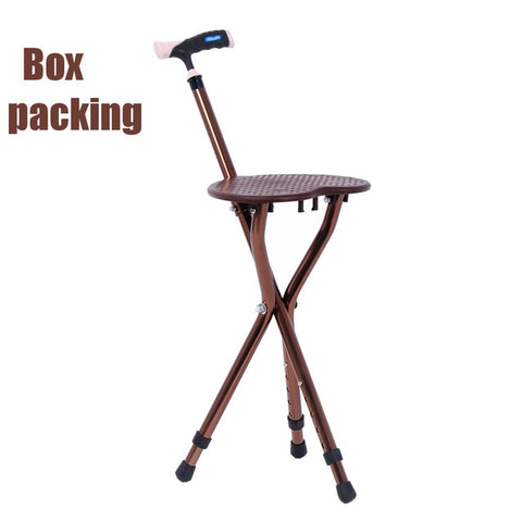 Portable Walking Cane Chair
