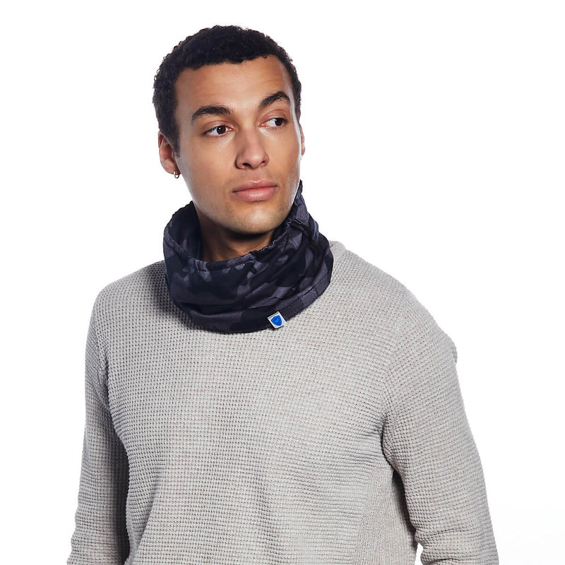 Blue Camo Snood - Single Pack