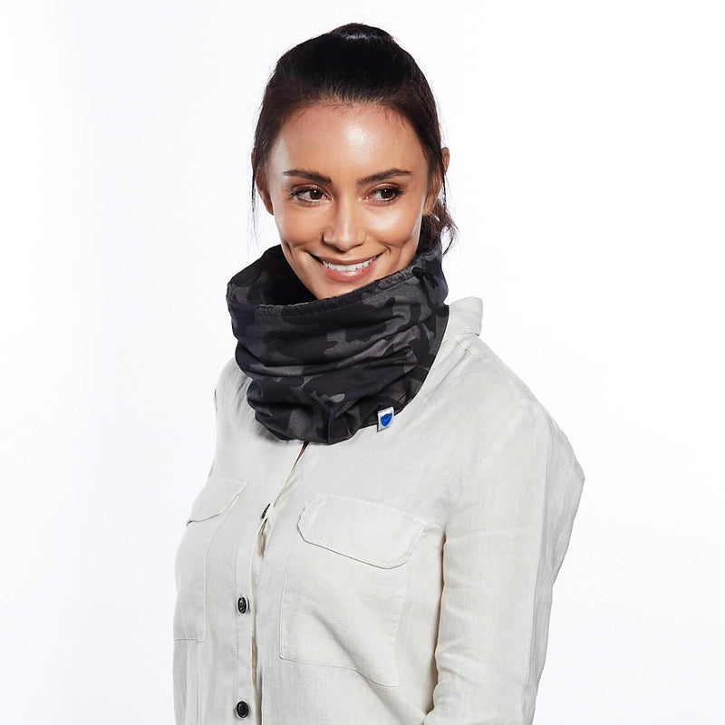 Grey Camo Snood - Single Pack