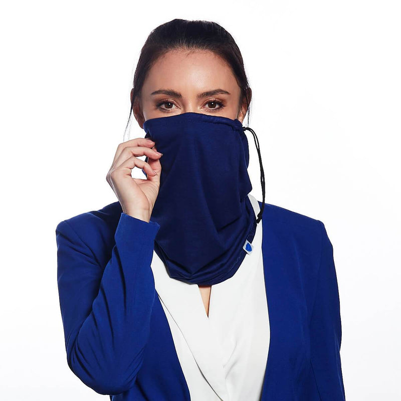 Blue Navy Snood - Single Pack