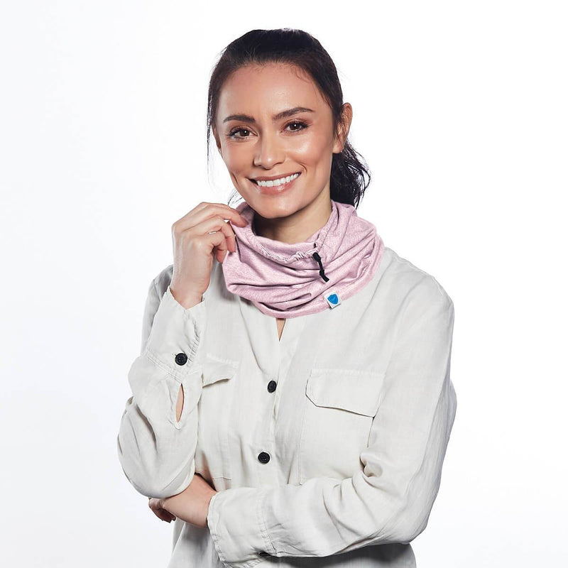 Pink Antimicrobial Snood