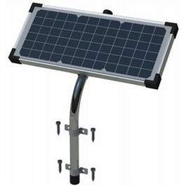 Gate Opener Solar Panel With Diode, 10-Watt