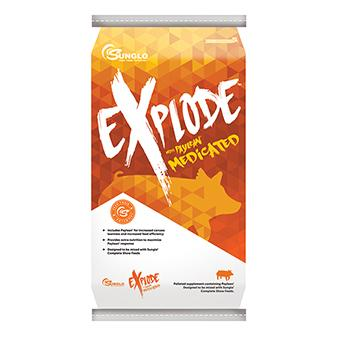 Sunglo Explode Supplement 25 Lb