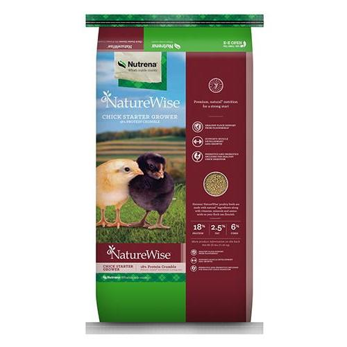 NatureWise Chick Starter-Grower 18% Crumbles