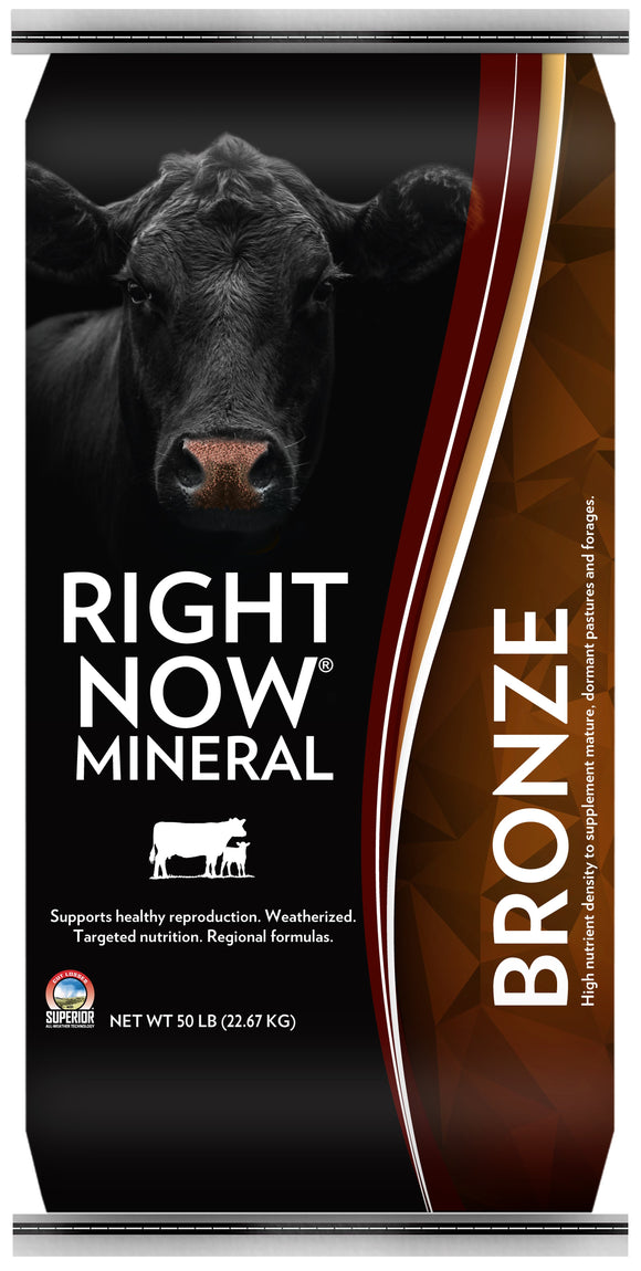 Right Now Bronze Mineral Supplement