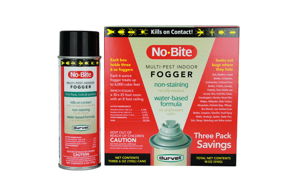 Durvet No-Bite™ Multi-Pest Indoor Fogger