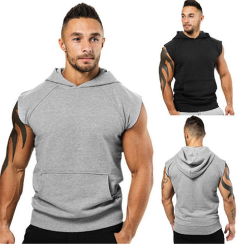 Sleeveless Hoodie - Ragnar Sports - Free Shipping in the US