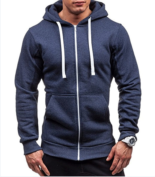 Zip-up Hoodie Sweatshirt - Ragnar Sports - Free Shipping in the US