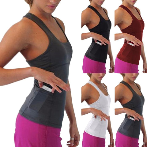 Tank Tops with Phone Pocket - Ragnar Sports - Free Shipping in the US