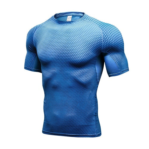 Quick Dry Compression Running T-Shirt - Ragnar Sports - Free Shipping in the US