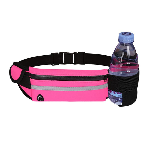 Waterproof Running Belt with Bottle Holder - Ragnar Sports - Free Shipping in the US