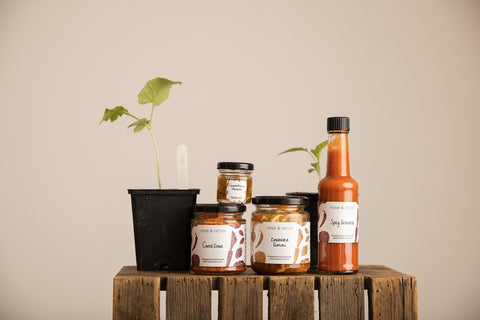 seasonal-spicy-sauces-at-the-eco-village