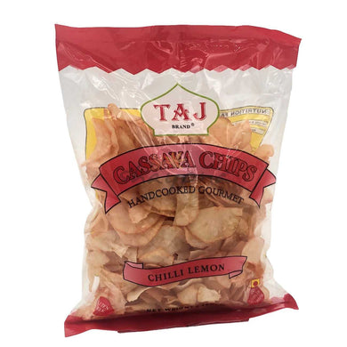 Taj Cassava Chips Chilli Lemon - Shayona UK