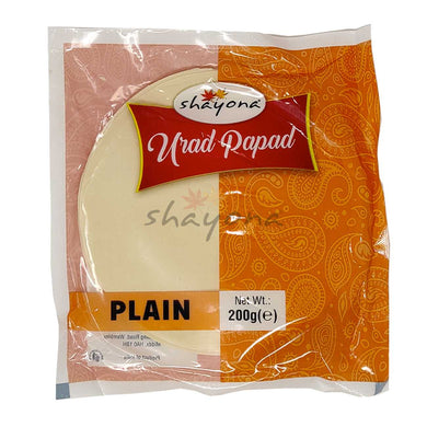 Shayona Plain Papad - Shayona UK