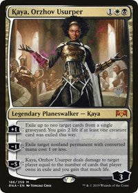 Kaya, Orzhov Usurper [Promo Pack: Throne of Eldraine] | Worlds Away CA