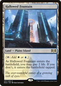 Hallowed Fountain [Promo Pack: Throne of Eldraine] | Worlds Away CA