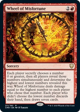 Wheel of Misfortune [Commander Legends] | Worlds Away CA