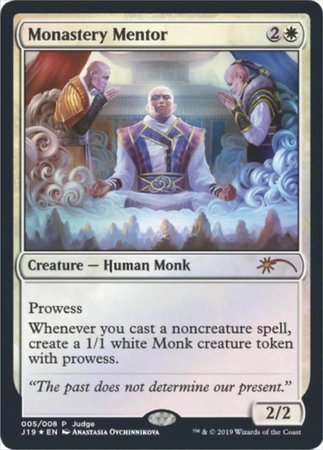 Monastery Mentor [Judge Gift Cards 2019] | Worlds Away CA