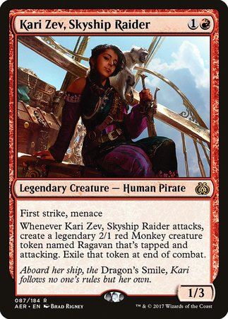Kari Zev, Skyship Raider [Aether Revolt] | Worlds Away CA