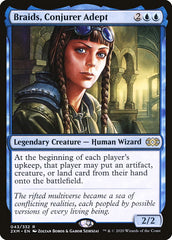 Braids, Conjurer Adept [Double Masters] | Worlds Away CA