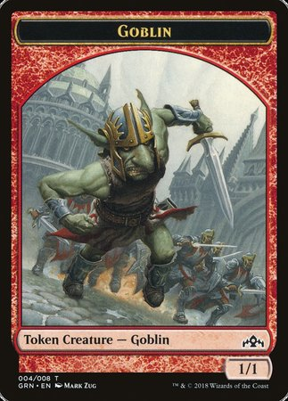 Goblin Token [Guilds of Ravnica Tokens] | Worlds Away CA