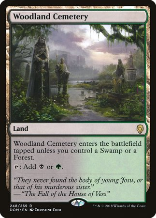 Woodland Cemetery [Dominaria] | Worlds Away CA