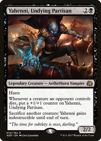 Yahenni, Undying Partisan [Aether Revolt] | Worlds Away CA