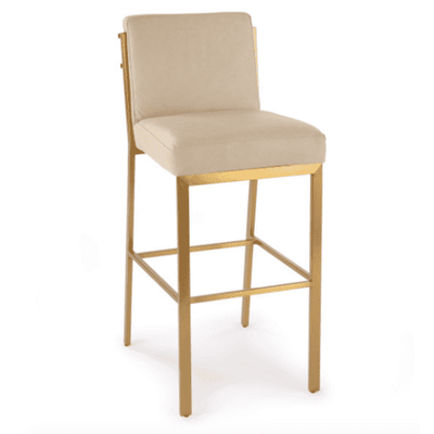 Chantel Leather Bar Stool - Sarah Virginia Home