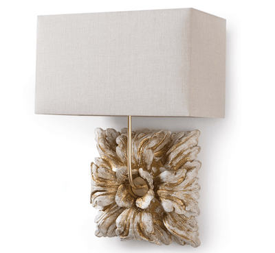Golden Bloom Sconce - Sarah Virginia Home