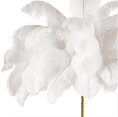 Josephine Feather Table Lamp - Sarah Virginia Home