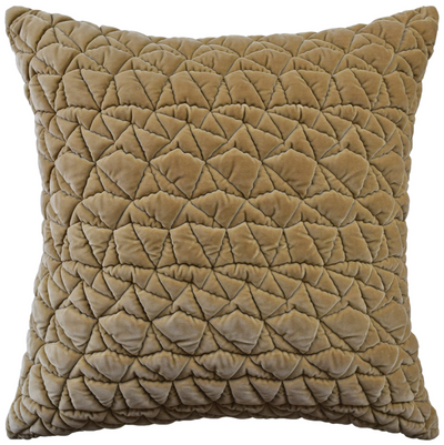 Taking Shape Throw Pillow (Camel) - Sarah Virginia Home