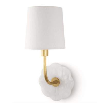 Camilla Bent Arm Sconce - Sarah Virginia Home