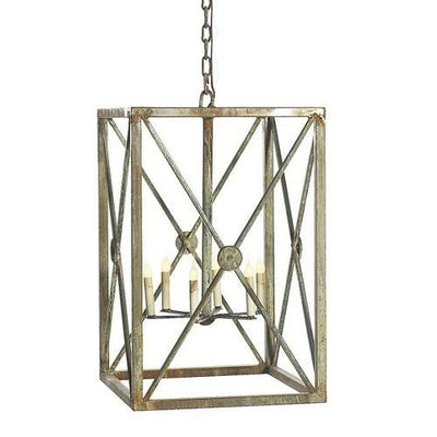 Aged Iron Lantern (Multiple Sizes) - Sarah Virginia Home
