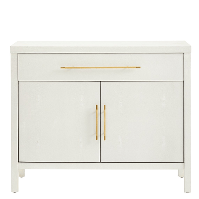 Alabaster Shagreen Cabinet - Sarah Virginia Home