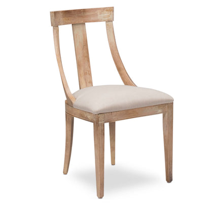 Oak Deco Side Chair - Sarah Virginia Home