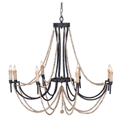 Amanda Beaded Chandelier - Sarah Virginia Home