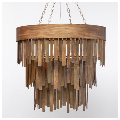 Douglas Chandelier (Brass) - Sarah Virginia Home