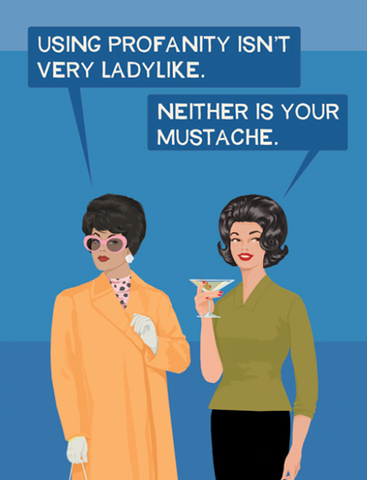 Mustache - 6 cards