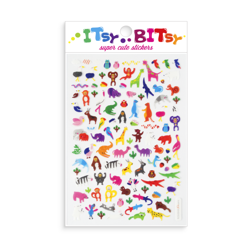 Itsy Bitsy Stickers - Jungle Pals Ooly