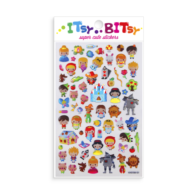 Itsy Bitsy Stickers, Fairy Tales