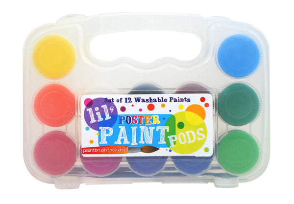 Lil' Poster Paint Pods, Classic Colors