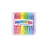 Mini Monster Scented Highlighter Markers - Set of Six